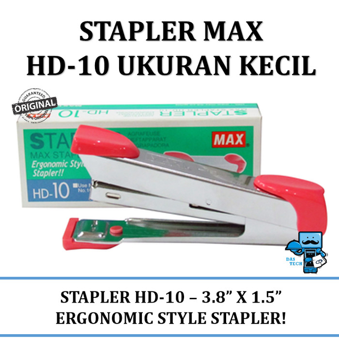 harga Stapler max hd-10 ukuran kecil Tokopedia.com