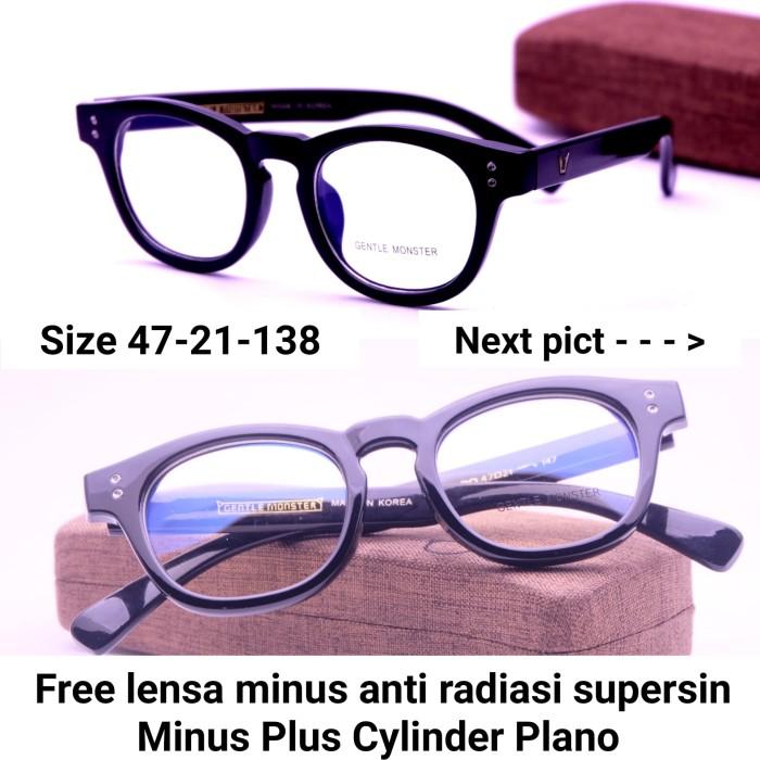 Jual Paket Lensa Minus - Frame Kacamata Gentle Monster 8355 Kacamata ... 58cfe9cf85