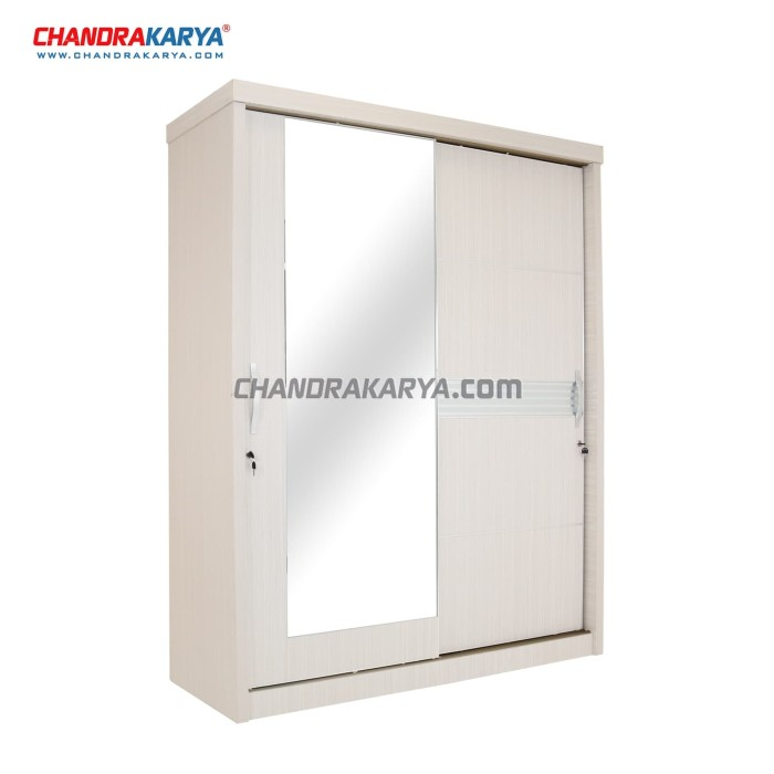 harga Lemari pakaian quality marlene hvl - 2 pintu sliding door Tokopedia.com