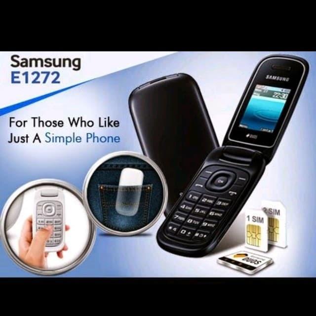 Beli Samsung Gt E1272 Samsung Lipat 1272 Hp Samsung 2013 Dual Sim
