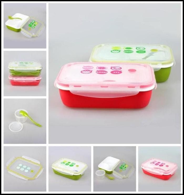 Produk Terlaris - Lunch Box / Kotak Makan Sup Yooyee 4 Sekat / Bento /