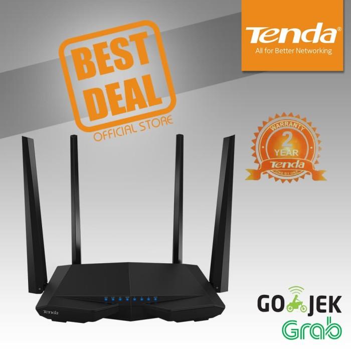 Tenda ac6 - router wifi dual-band canggih ac1200