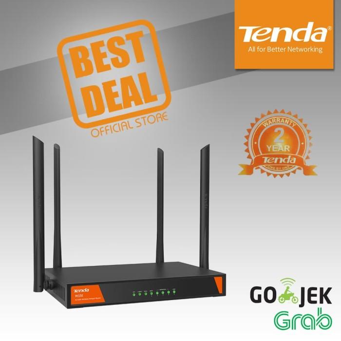 Tenda w15e - ac1200 wireless hotspot router