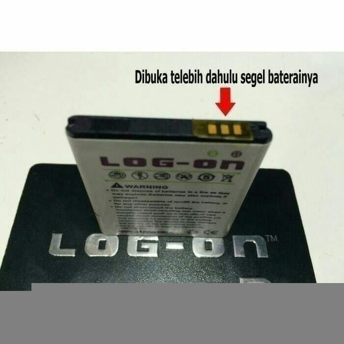 Batrai Dobel Power Battery/Batre Advan S40 Baterai Log On Double IC
