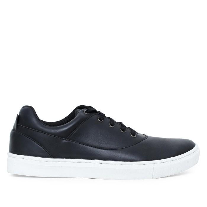 Sepatu sneakers pria mens republic - carlo black mr110black