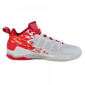 5cdfc32e5b70 Jual PEAK Dwight Howard 1 Low Men Basketball Shoes-White Red Murah ...