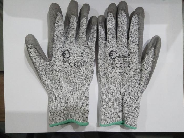 harga Sarung tangan anti potong sarung tangan anti cut resistance glove orex Tokopedia.com