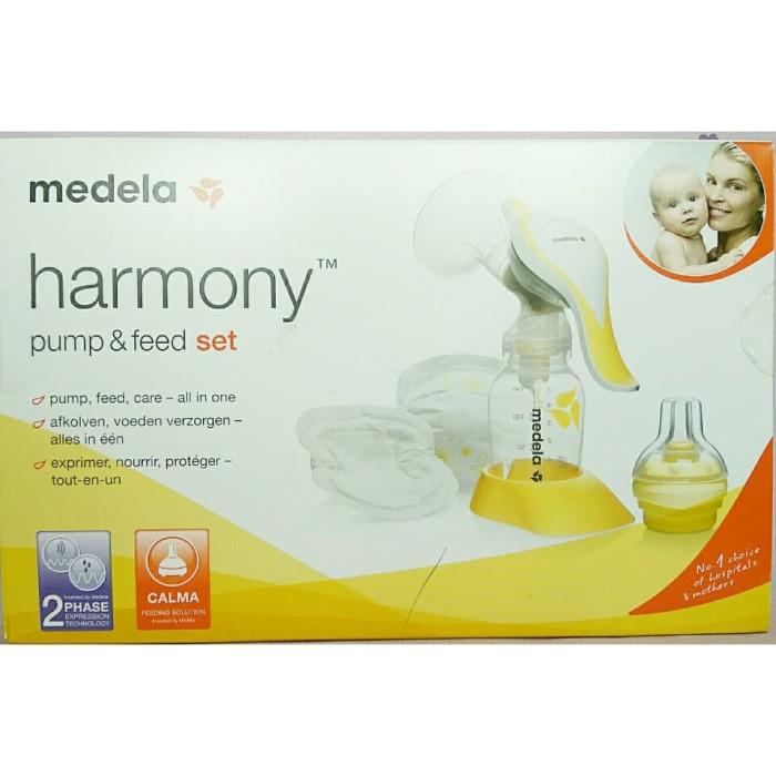 Foto Produk POMPA ASI MEDELA HARMONY / Breast Pump MEDELA Harmony &feed set dari Engky Collection