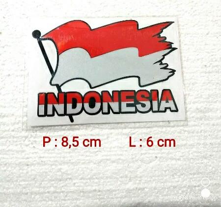 Jual Stiker Bendera Merah Putih Berkibar Kab Bogor Shop Varioclub Tokopedia
