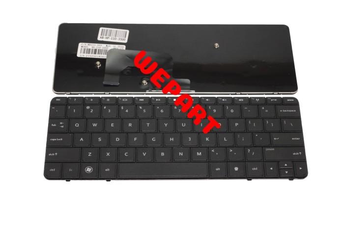 Foto Produk Keyboard HP Mini 110-3530 110-3500 110-3505 110-3600 210-3000 Hitam dari Wepart