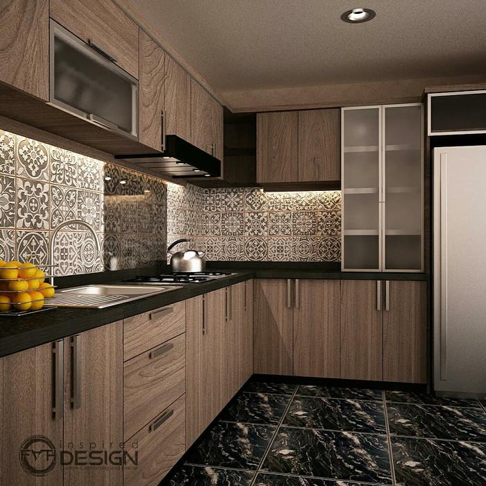 Jual Desain Kitchen Set Minimalis Kab Kuningan Fath Handmade