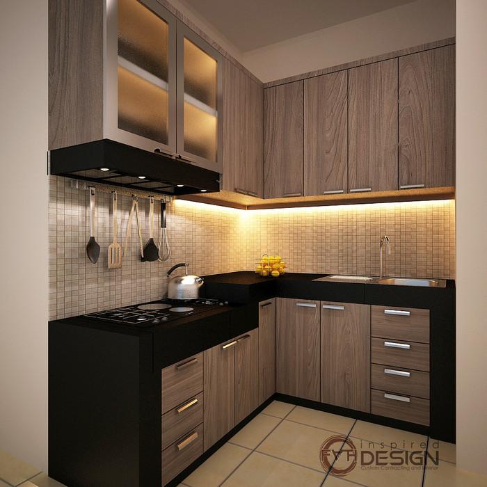 Desain Kitchen Set Minimalis Rumah Joglo Limasan Work