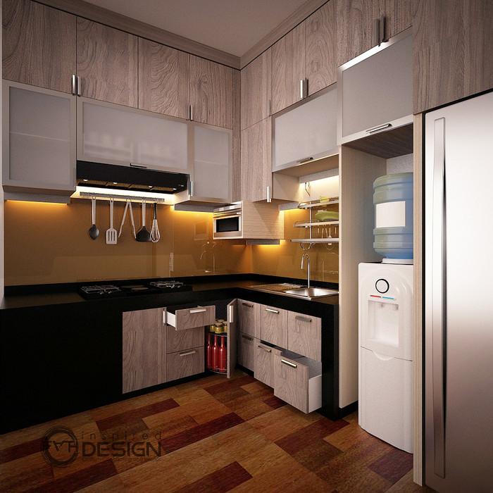 Jual Desain Kitchen Set Minimalis Meja Beton Kab Kuningan