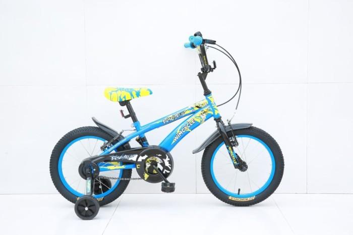 harga Sepeda wimcycle 18 inch bmx voltus blue Tokopedia.com