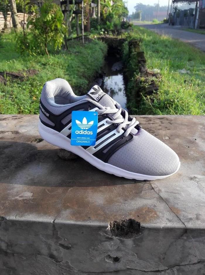 Jual Sepatu Pria Adidas Climacool Abu-Abu - Sport- Casual - jogging ... 0f134973ce