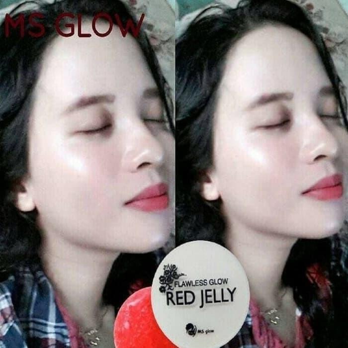 Flawless Glow Red Jelly BPOM Original - MS Glow Red Jelly