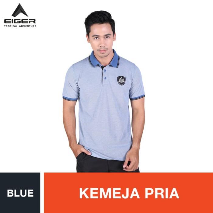 harga Eiger mountain club shirt - blue / kemeja pria - biru muda s Tokopedia.com