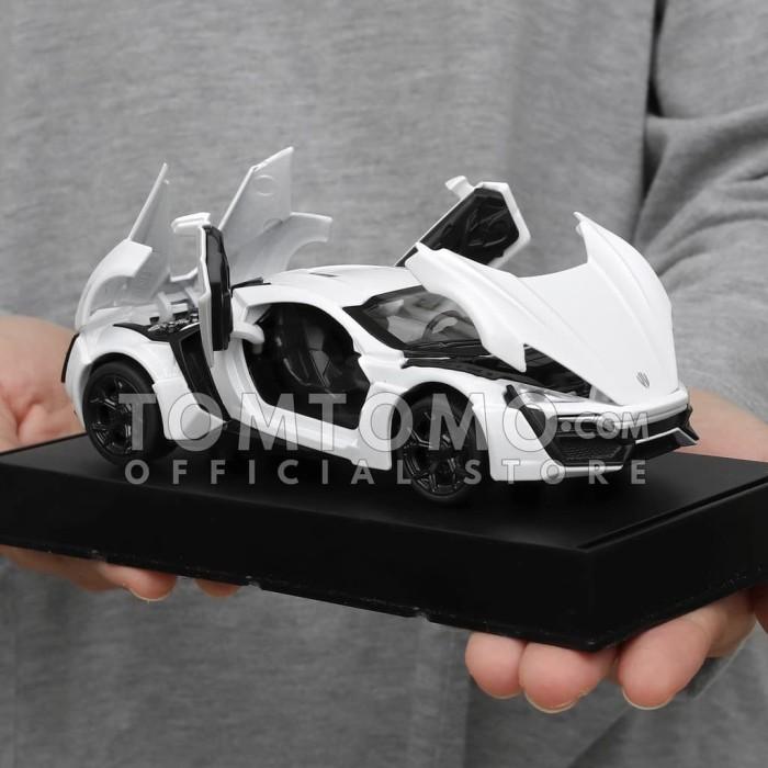 Jual Lykan Hyper Sport Tomtomo Diecast Miniatur Mobil Mobilan Fast