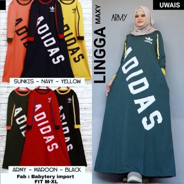 Kaftan Lingga maxy dress by Uwais