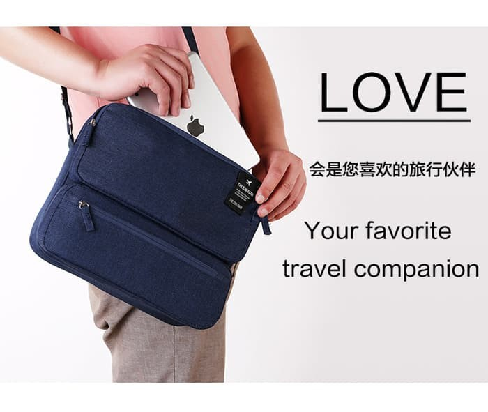 Jual Tas Selempang Boomer Bag Travel Sling Impor Korean