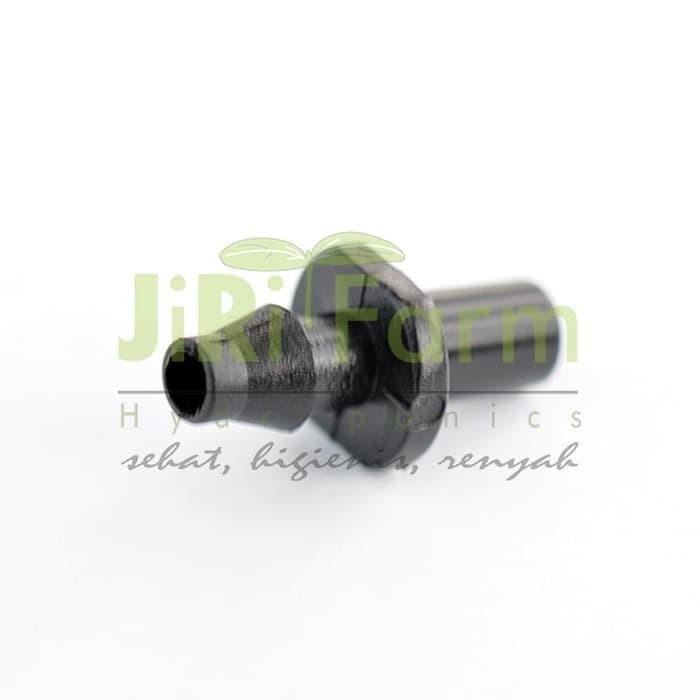 Jirifarm Hidroponik Hidroponik 3401 Barb Adaptor 5 mm (09252)