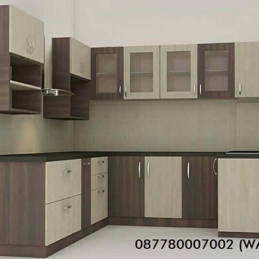 Jual Beli Kitchen Set Minimalis Bahan Multiplek Hpl Harga Rp 1 700 000