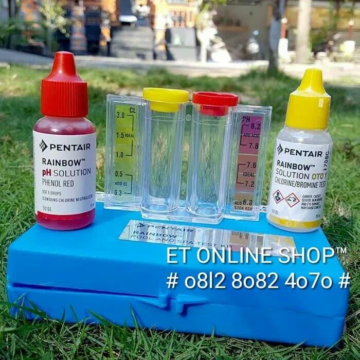 Foto Produk Test Kit Chlorine dan pH merk PENTAIR (RAINBOW) dari easytest