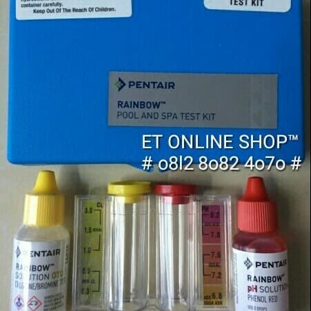 Foto Produk Tes Kit Klorin dan pH merk PENTAIR (RAINBOW) dari easytest