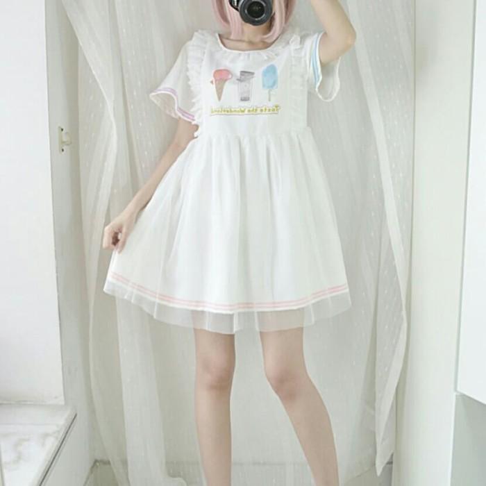 AISUKURIMU CASUAL FAIRY DRESS