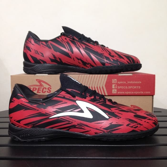Jual Sepatu Futsal Specs 400796 Accelerator Illuzion In Black Dark