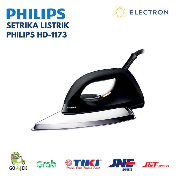 Dry Iron Philips HD-1173 350W (Setrika Listrik) - Hijau muda