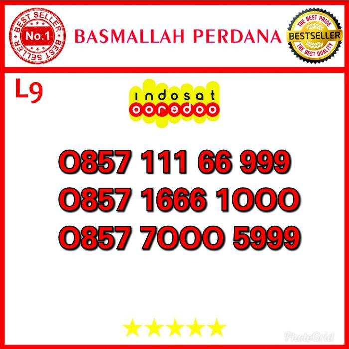 Nomor Cantik Ooredoo IM3 Seri Double Triple 666000 0857 111 66 999 L09