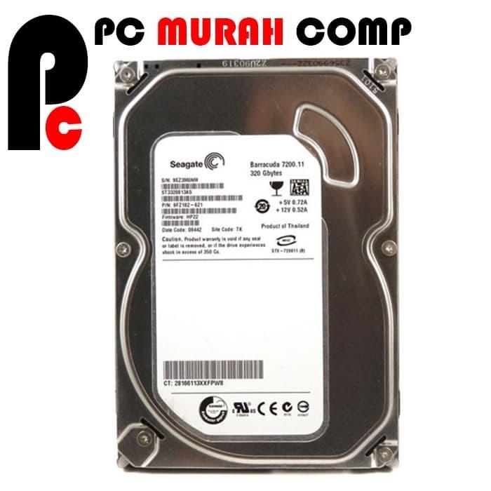 Foto Produk Harddisk Internal PC 3.5 320GB Sata Seagate tebal dari Pc Murah Comp