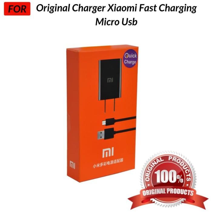 Foto Produk ORIGINAL 100% CHARGER XIAOMI FAST CHARGING dari Jagonya Case