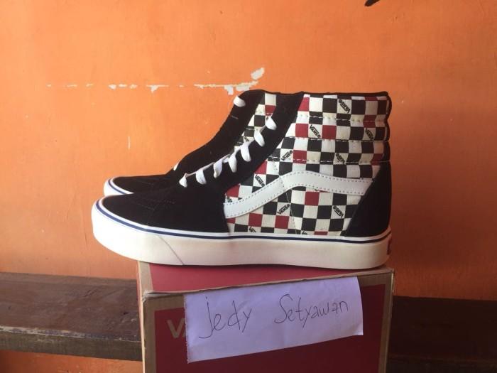 9c9d737aa7 Jual Vans Sk8-Hi Lite Checkerboard Ultracush Not Old Skool Authentic ...