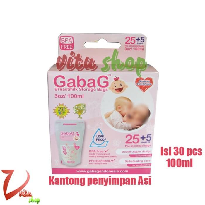 Kantong Penyimpanan ASI GABAG 100ml / Breastmilk Storage Bags