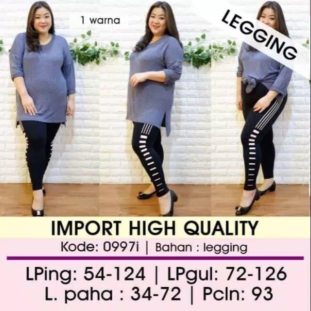 Jual Celana Legging Import 0997i Jumbo Bigsize Jakarta Utara A R P Store Tokopedia