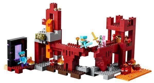 Jual LEGO Minecraft # 21122 The Nether Fortress Hostile Mobs Zombie Alex -  Jakarta Barat - Cahayyaku   Tokopedia