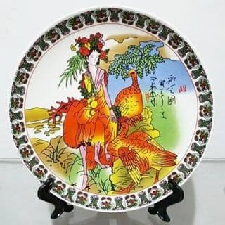 harga Pajangan piring keramik dewi cina 20.6 cm b Tokopedia.com