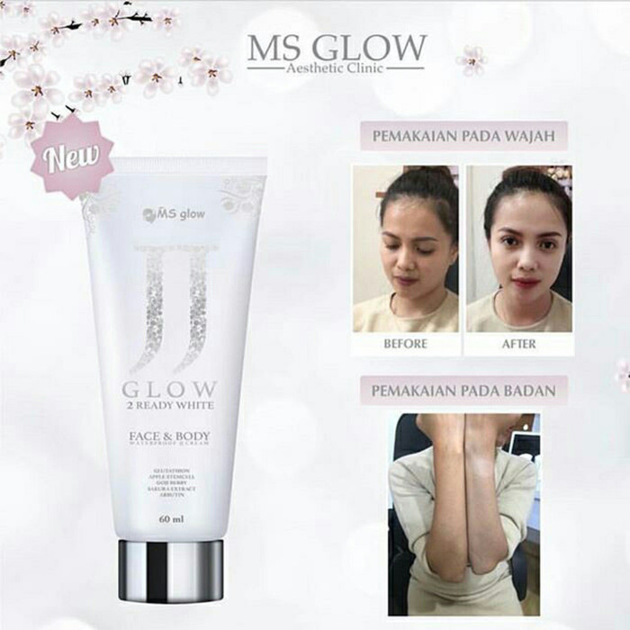 Ms Glow JJ Glow -Utk Face Dan Body