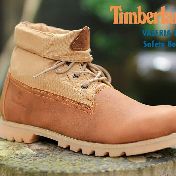 ... harga Sepatu boots timberland valeria safety tan ujung besi  Tokopedia.com 666accfa55