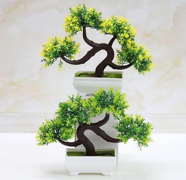 Jual BONSAI Meja Bonsai Plastik Bonsai Artifisial pohon Bonsai (5set ... a4fc129fa8