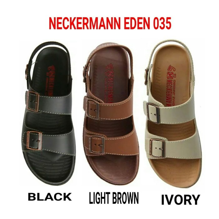 Jual sandal neckermann original EDEN 051 black Hitam 41 Erlin Source · Neckermann EDEN 035 Sandal Pria Neckermann eden 035