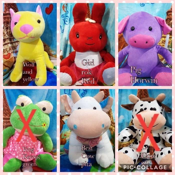 harga Boneka bear size l keropi cowspot kado ultah gift mainan anak Tokopedia.com