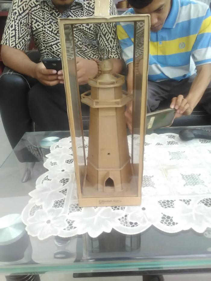 Jual Miniatur Menara Banten Bisa Custom Lamatake Shop Tokopedia