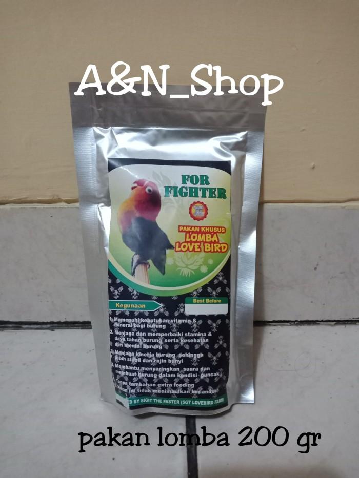 For Fighter Pakan Lomba Lovebird 200 gr