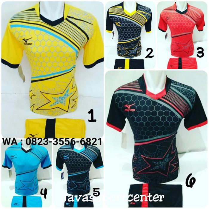 Jual Baju Volly Jersey Futsal Kaos Bola Setelan Olahraga Voli Mizuno ... 67f41b0535