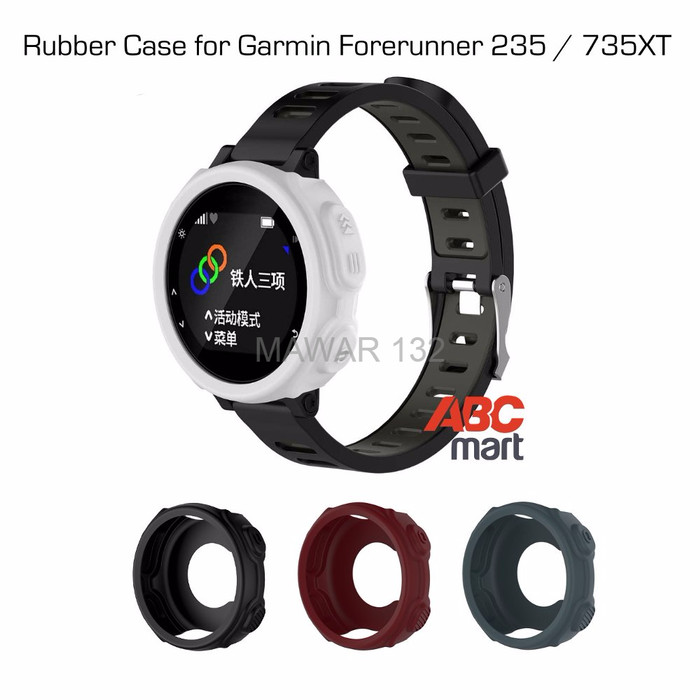 Silicone Cover Rubber Band Case Protector For Garmin Forerunner 235 735XT GPS MA