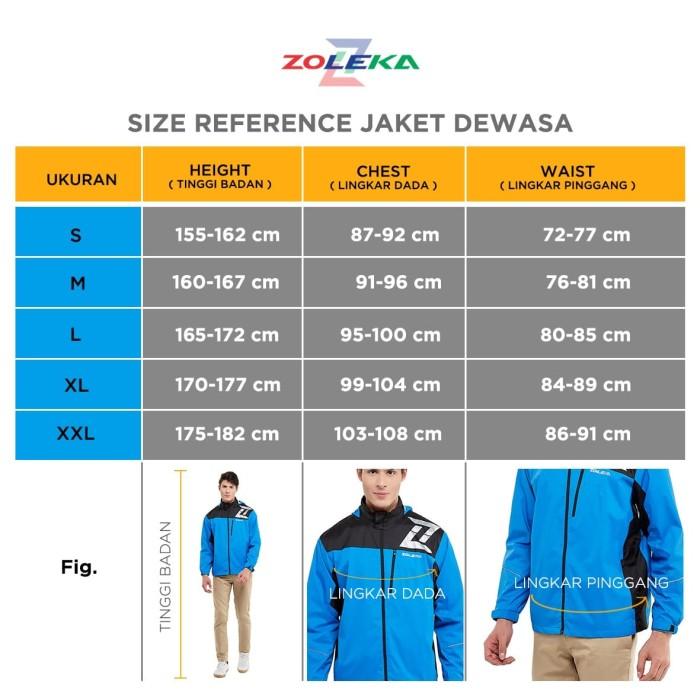 Zoleka Terra Jaket Motor Packable Tahan Angin Pria - Blanja.com