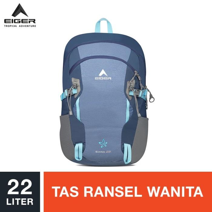 eiger ws stash daypack 22l - blue / tas ransel wanita